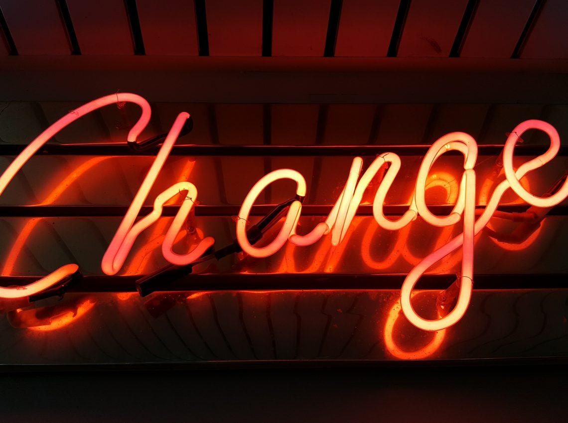 Change Neon Sign